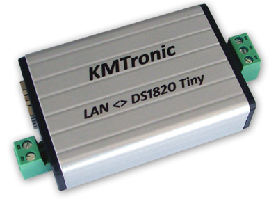 KMtronic LAN DS18B20 Temperature Monitor