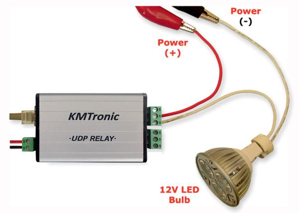 KMtronic UDP LAN Relay board
