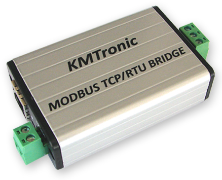 KMtronic Modbus LAN TCP/IP to Modbus RTU RS485 Serial Communication Module Converter