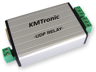 KMtronic LAN Ethernet IP 2 channels UDP Relay board (PCB)