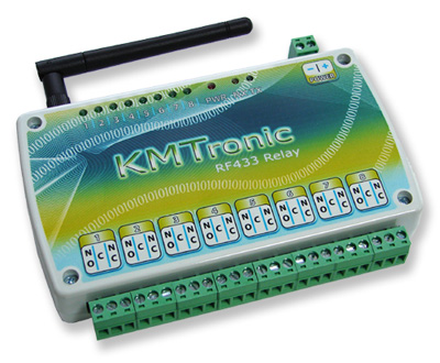 KMtronic USB > RF433MHz > 8 Channel Relay Board