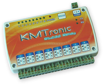KMTronic RS232 8 channels Relay board