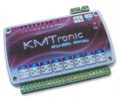 KMtronic RS485 Eigth Channels Relay Controller (BOX)