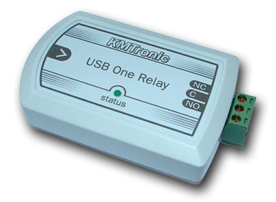 KMtronic USB One Channel Relay Controller (BOX)
