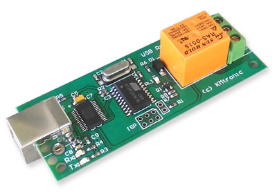 KMtronic USB Relay Controller One Channel