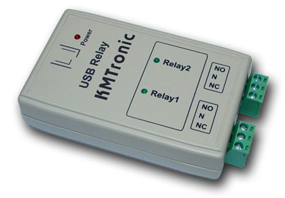 KMtronic USB Two Channels Relay Controller (BOX)