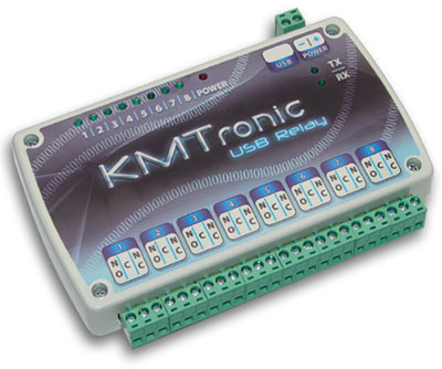 KMtronic USB Eight Channels Relay Controller (BOX)