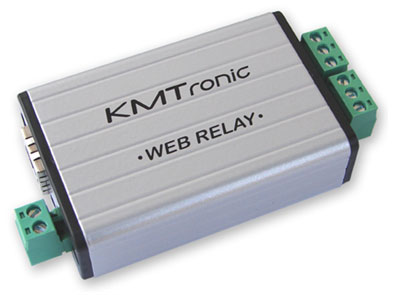 KMtronic LAN Ethernet IP 2 channels WEB Relay board (BOX)