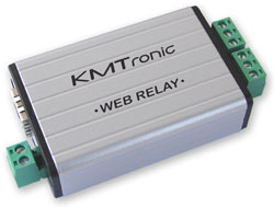 KMtronic WEB LAN relay board