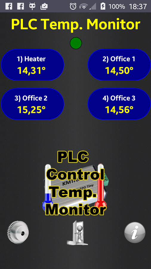 KMTRONIC Plc Temp Monitor for Android