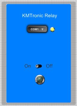 KMtronic usb one relay FlowStone