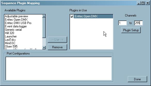 Vixen Lightning Software