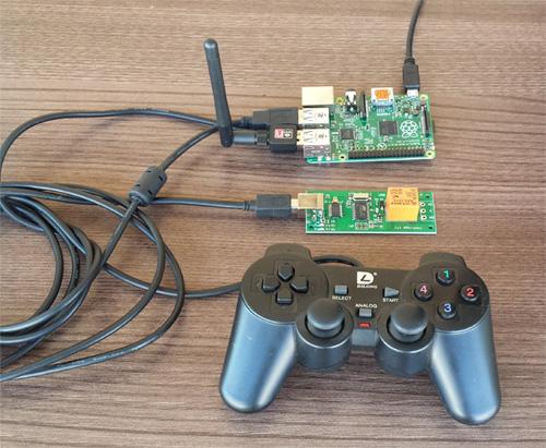 Raspberry pi joystick controlled relays
