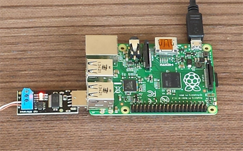 USB RS485 8 Relay boards by Raspberry Pi