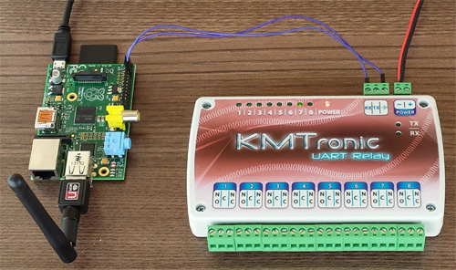 Raspberry Pi Relay Programming on
